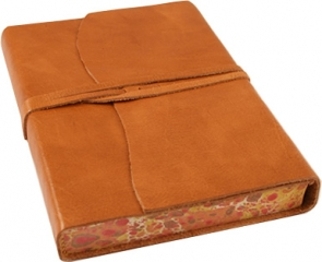 Roma russo leather journal