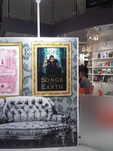 The first thing you see on the Hachette stand at LBF11