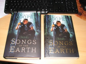 Hardback and trade paperback - Songs of the Earth