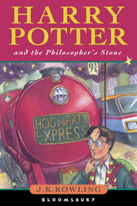 Bloomsbury cover of Harry Potter & the Philosopher's Stone