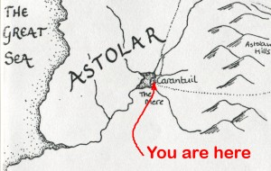 Excerpt from original map